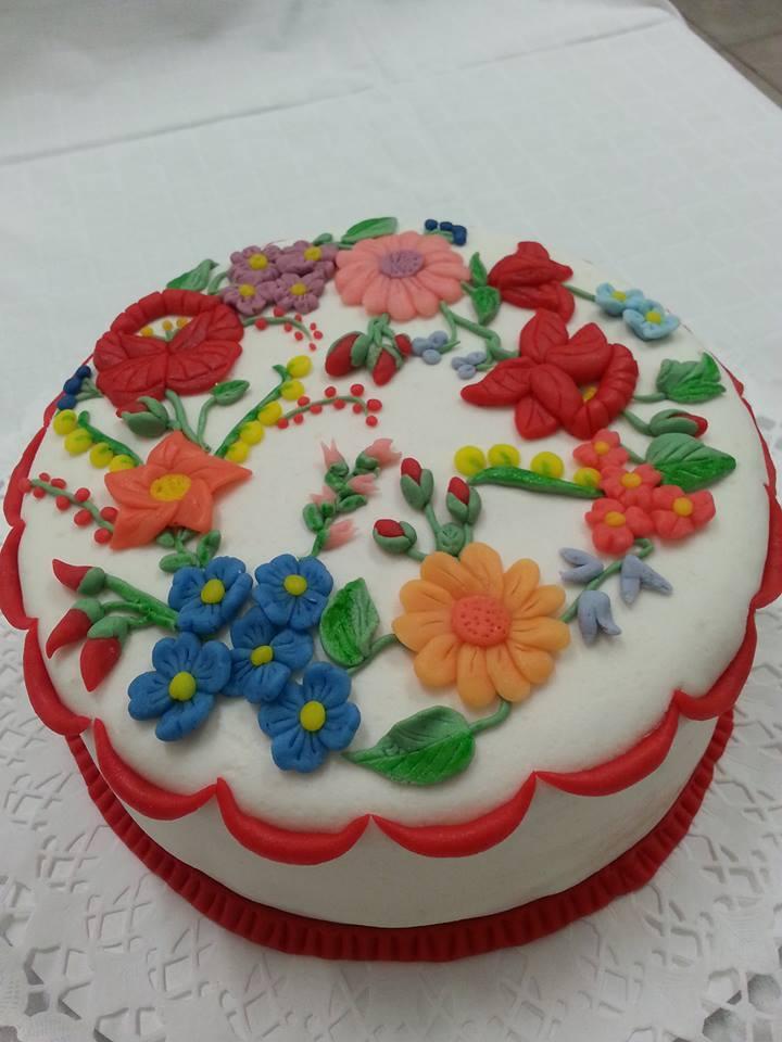 Kalocsai torta, népi torta