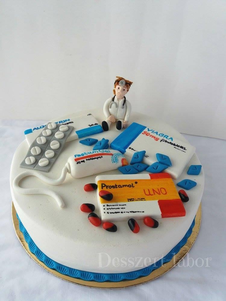 Gyógyszeres torta