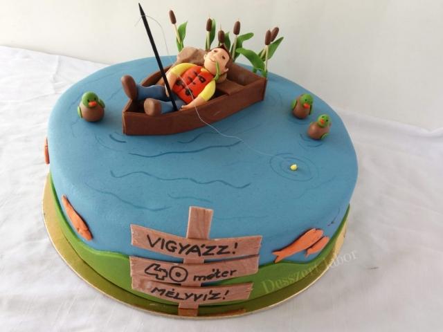 Torta horgászoknak